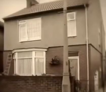 Arkwright's grandfather's house on Ruskin Drive, Mexborough