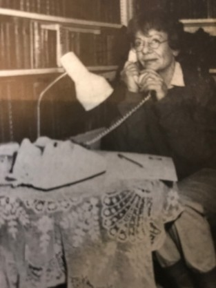 A still from the Crimewatch UK reconstruction portrays Dr Kaczmarska in her final telephone call to her sister, Irena