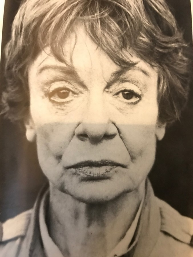 The actress portraying Dr Kaczmarska made up to look like her at her time of death